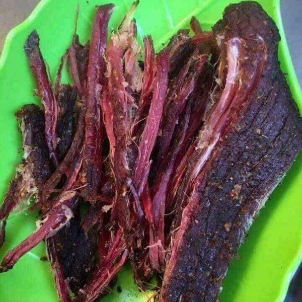 Thịt trâu gác bếp 12