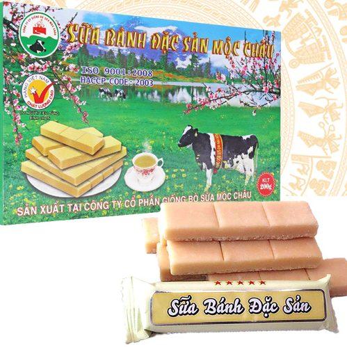Bánh sữa Mộc Châu